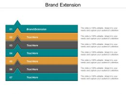 Brand Extension Ppt Powerpoint Presentation File Examples Cpb