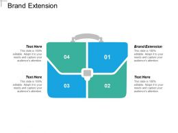 Brand Extension Ppt Powerpoint Presentation Gallery Sample Cpb