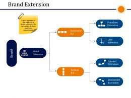 Brand Extension Presentation Images