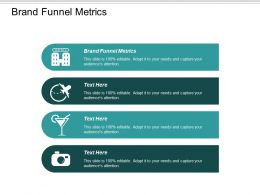 Brand Funnel Metrics Ppt Powerpoint Presentation Pictures Clipart Images Cpb