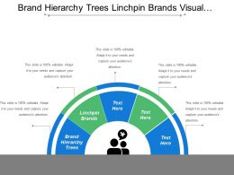 Brand Hierarchy Trees Linchpin Brands Visual Presentation Set Goals