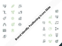 Brand Identify Positioning Icons Slide Gears Threat Ppt Powerpoint Presentation File Icon