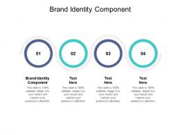 Brand Identity Component Ppt Powerpoint Presentation Outline Icon Cpb