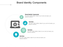 Brand Identity Components Ppt Powerpoint Presentation Styles Inspiration Cpb