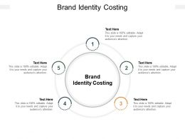 Brand Identity Costing Ppt Powerpoint Presentation Layouts Diagrams Cpb