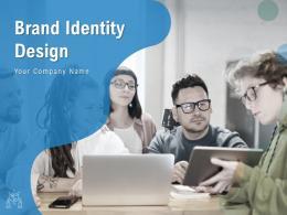 Brand Identity Design Powerpoint Presentation Slides