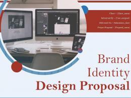 Brand Identity Design Proposal Powerpoint Presentation Slides