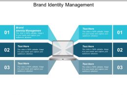 Brand Identity Management Ppt Powerpoint Presentation Gallery Example Introduction Cpb