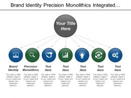 Brand Identity Precision Monolithics Integrated Electronics Internal Memory