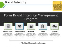 Brand Integrity Powerpoint Shapes