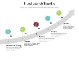 Brand Launch Tracking Ppt Powerpoint Presentation Layouts Templates Cpb