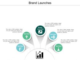 Brand Launches Ppt Powerpoint Presentation File Shapes Cpb