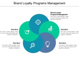 Brand Loyalty Programs Management Ppt Powerpoint Presentation Visual Aids Show Cpb