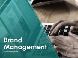 Brand Management Powerpoint Presentation Slides