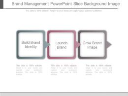 Brand Management Powerpoint Slide Background Image