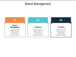 Brand Management Ppt Powerpoint Presentation File Good Cpb