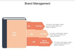 Brand Management Ppt Powerpoint Presentation File Information Cpb