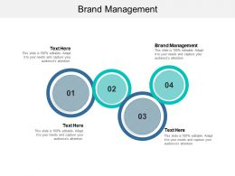 Brand Management Ppt Powerpoint Presentation Professional Example Introduction Cpb