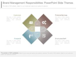Brand Management Responsibilities Powerpoint Slide Themes