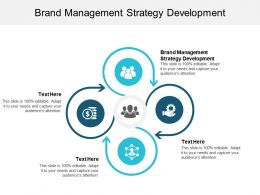 Brand Management Strategy Development Ppt Powerpoint Presentation File Files Cpb