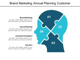 Brand Marketing Annual Planning Customer Anticipation Buyer Personal Strategy Cpb