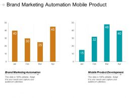 Brand Marketing Automation Mobile Product Development Operational Analytics Cpb