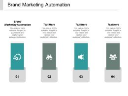 Brand Marketing Automation Ppt Powerpoint Presentation File Inspiration Cpb
