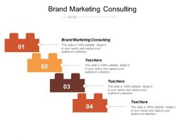 Brand Marketing Consulting Ppt Powerpoint Presentation Gallery Tips Cpb