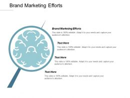 Brand Marketing Efforts Ppt Powerpoint Presentation Gallery Aids Cpb