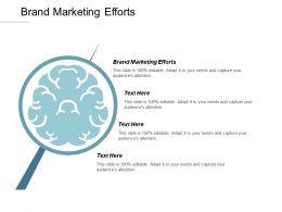 Brand Marketing Efforts Ppt Powerpoint Presentation Gallery Aids Cpb