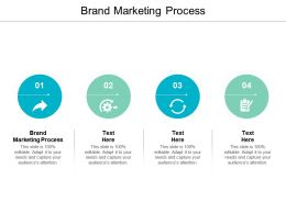 Brand Marketing Process Ppt Powerpoint Presentation Layouts Show Cpb