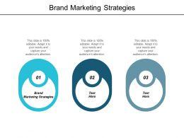 Brand Marketing Strategies Ppt Powerpoint Presentation Inspiration Slide Portrait Cpb