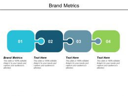 Brand Metrics Ppt Powerpoint Presentation Backgrounds Cpb