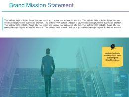Brand Mission Statement Ppt Background Graphics