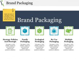 Brand Packaging Ppt Examples Professional