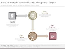 Brand Partnership Powerpoint Slide Background Designs