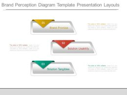 Brand Perception Diagram Template Presentation Layouts