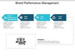 Brand Performance Management Ppt Powerpoint Presentation Show Summary Cpb