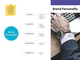 Brand Personality Excitement Ppt Powerpoint Presentation Display