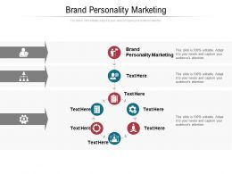 Brand Personality Marketing Ppt Powerpoint Presentation Gallery Images Cpb