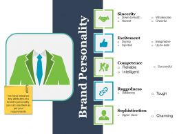 Brand Personality Ppt Infographic Template