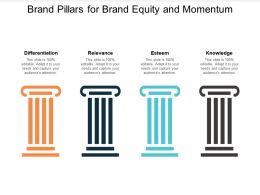 Brand Pillars For Brand Equity And Momentum