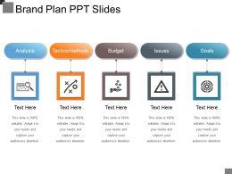 Brand Plan Ppt Slides