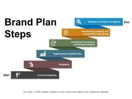Brand Plan Steps Ppt Sample