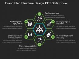 Brand Plan Structure Design Ppt Slide Show