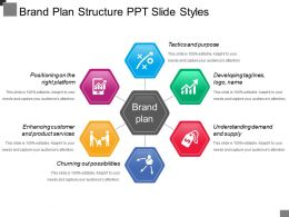 Brand Plan Structure Ppt Slide Styles