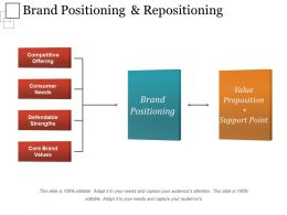 Brand Positioning And Repositioning Sample Of Ppt