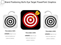 Brand Positioning Bulls Eye Target Powerpoint Graphics