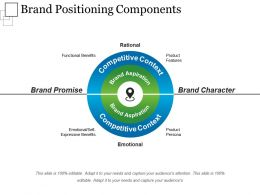 Brand Positioning Components Powerpoint Guide