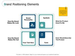 Brand Positioning Elements Ppt Powerpoint Presentation Images